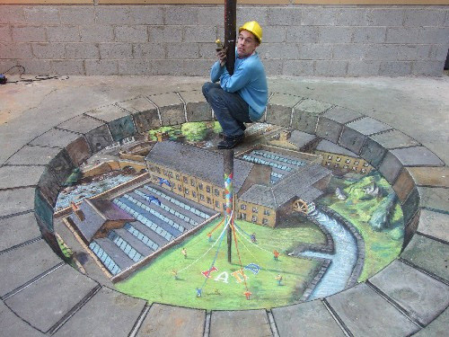 A picture is worth 1,000 words but these chalk pictureswill leave you with2 words…NO WAY!
