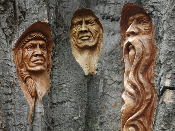 These tree carvings will amaze you and might look