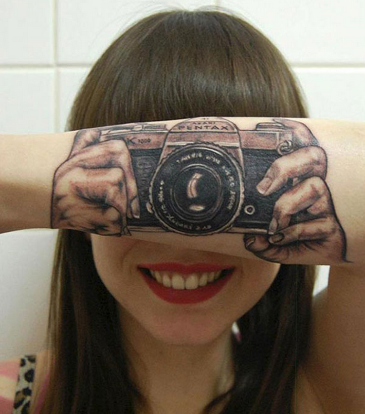 These tattoos are extremely clever but then you realize it's on your body for the REST OF YOUR LIFE…