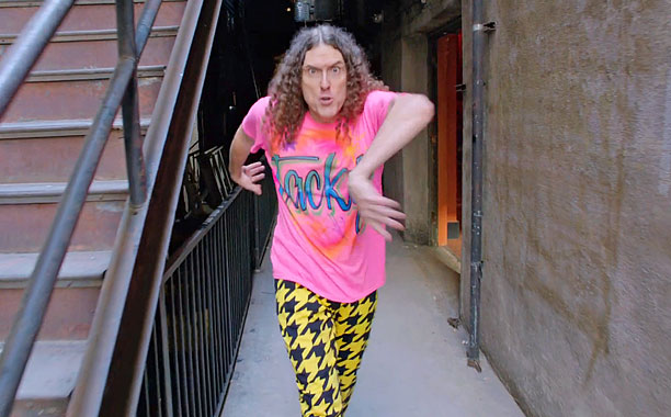 TACKY! Weird Al Yankovich And Friends Perform An Awesome Parody Of Pharrell's Song HAPPY!
