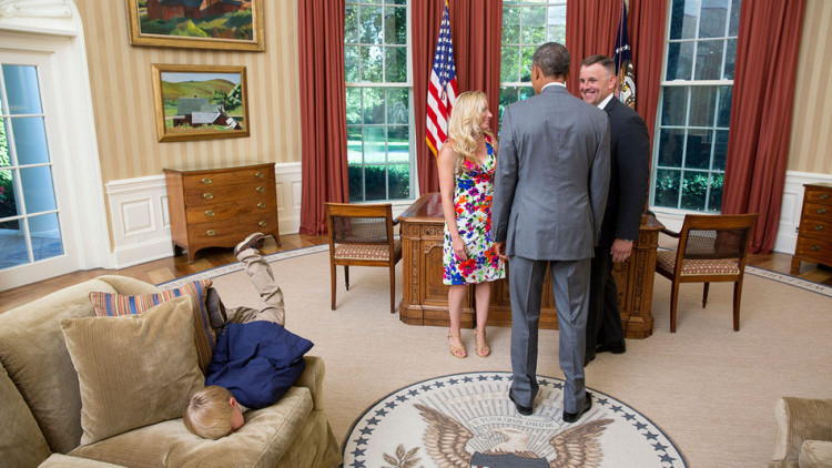 This Kid Shows That He Could Care Less About Meeting Obama In The Most Awesome Way Possible.