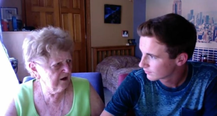 Grandma Reacts To Nicki Minaj Anaconda Video Exactly How You Think She Would And It Is So Awesome!