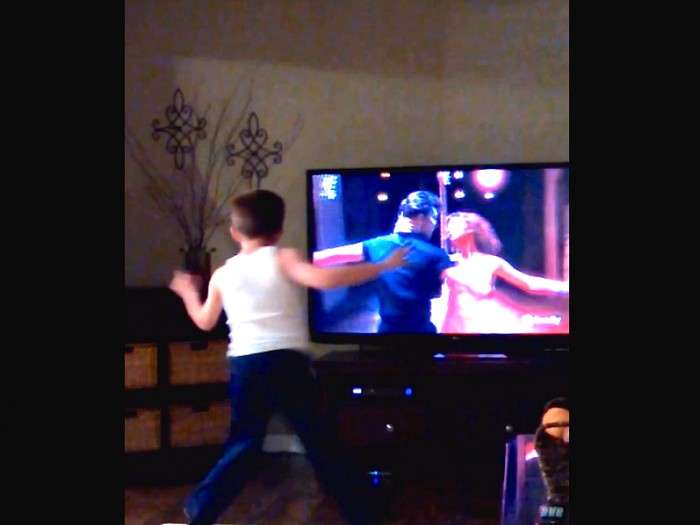 "Charlie Vs. Swayze: This Kid Grooves Along To The Movie ""Dirty Dancing"" And He Is Amazingly Talented!"