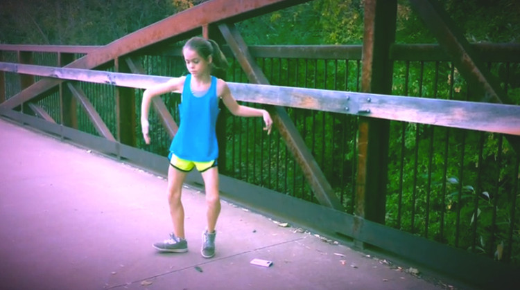 This 11-Year-Old Girl Taught Herself To Be An Amazing Dubstep Dancer!
