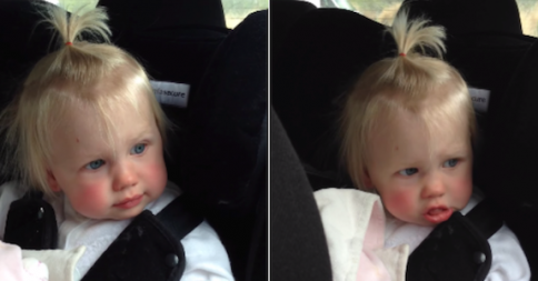"Watch As This Little Girl Wakes Up From Her Nap Just To Do A Little Dance To Ed Sheeran's Song ""Don't"""
