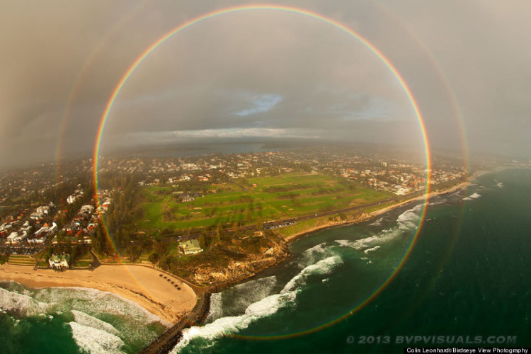 You've Heard Of The Double Rainbow. Now Feast Your Eyes On The Full Circle Rainbow!