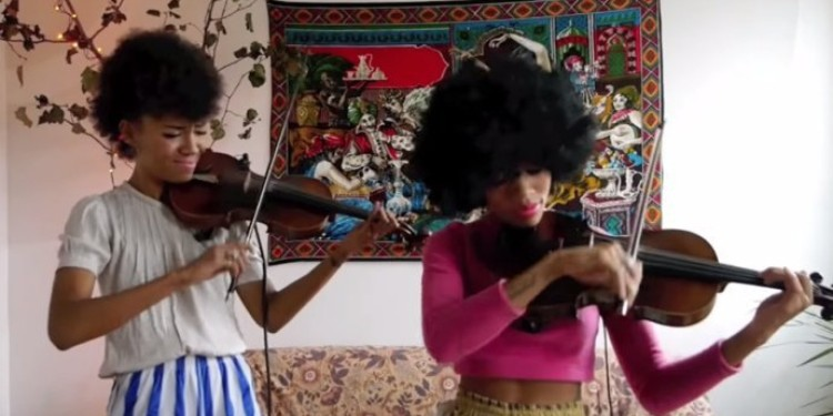 "Musical Duo Chargaux Does A Strings Cover ""Shake It Off"" And It Is Absolutely AMAZING!"