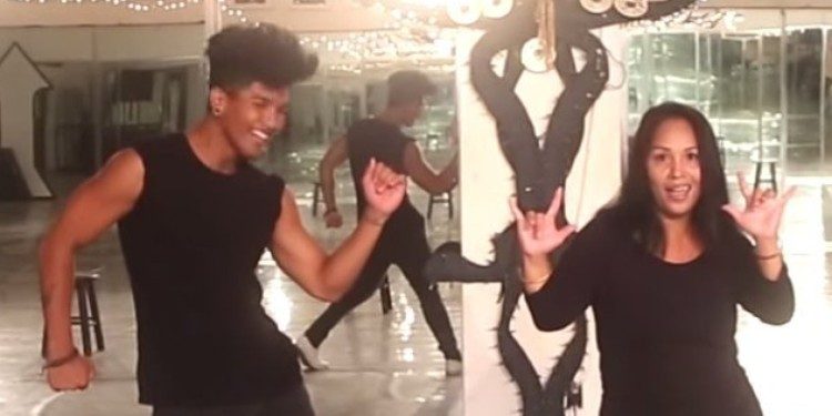 A Deaf Mom And Her Son Bust Some Absolutely Amazing Dance Moves!
