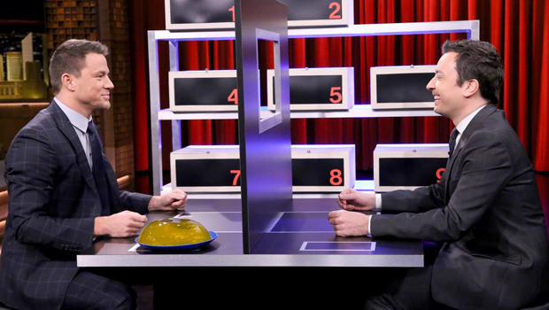 "Channing Tatum And Jimmy Fallon Play A Hilarious Game Of ""Box Of Lies"""
