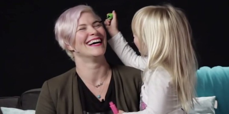 Kids Learn Some Very Important Lessons About Beauty After Doing Their Moms' Makeup