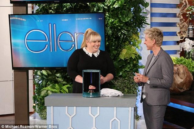 Rebel Wilson Makes Up The Most Hilarious Infomercial on Ellen!