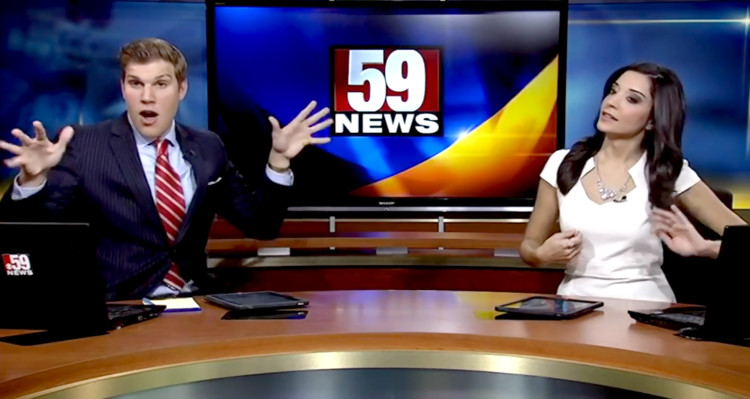"""The Dancing News Anchor Is Back And His """"Shake It Off"""" Rendition Is HILARIOUS!"""