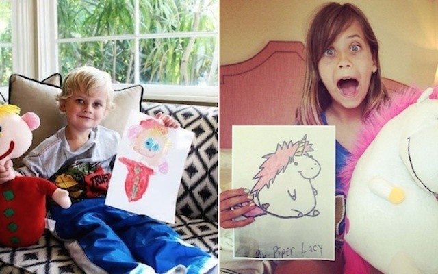 This Awesome Company Can Turn A Child's Drawing Into An Actual Toy!