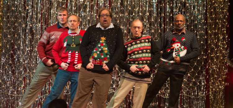 Dads Perform A Hilarious Dubstep Dance (And Yes, They're Wearing Awesome Tacky Christmas Sweaters!)