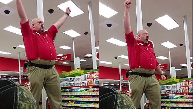 "Target Manager Gives The Best Black Friday Pep Talk Ever (Think ""Sparta"" Style!)"