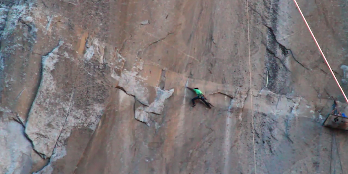 Incredible Adventurers Are Attempting The World's Hardest Rock Climb Using Only Their Bare Hands!