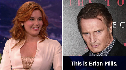 "Maggie Grace And Liam Neeson Played A Hilarious ""Taken"" Style Prank On A Guy"