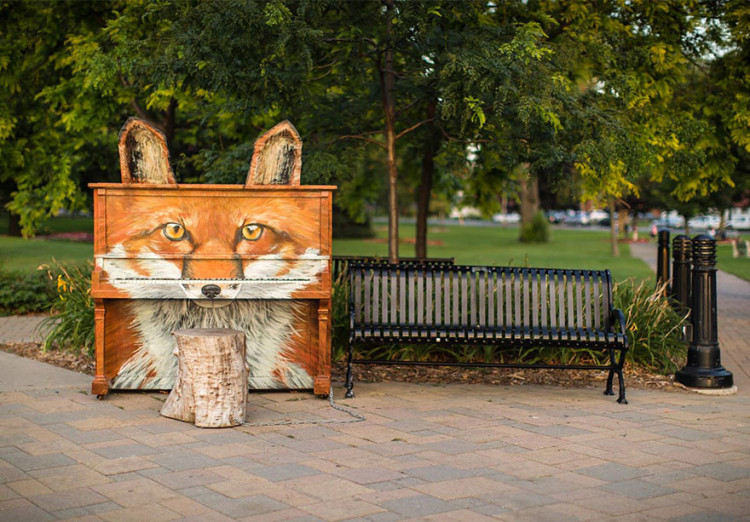 10 Absolutely Stunning Outdoor Pianos From Around The World