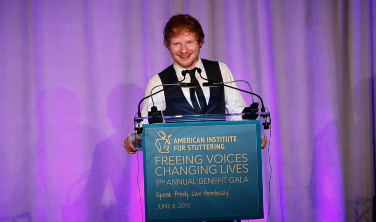 "Ed Sheeran Wins Award And Gives A Beautiful Speech Encouraging People: ""Embrace Your Weirdness"""