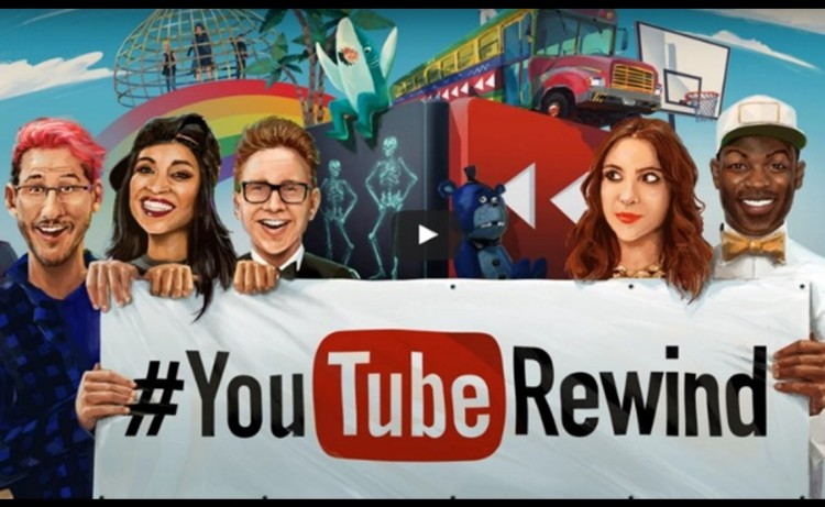#YouTubeRewind Captures All Of The Most Viral Moments On The Internet From 2015