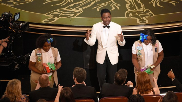Chris Rock Pulled The Ultimate Dad-Move At The Oscars!