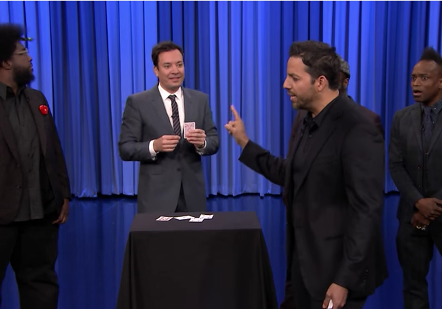 Everyone enjoys a little magic — even Jimmy Fallon